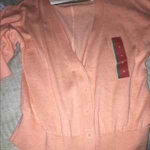 Brand New Orange Summer Sweater (Medium)